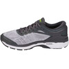 asics Gel-Kayano 24 Lite-Show Shoes Men Mid Grey/Dark Grey/Safety Yellow